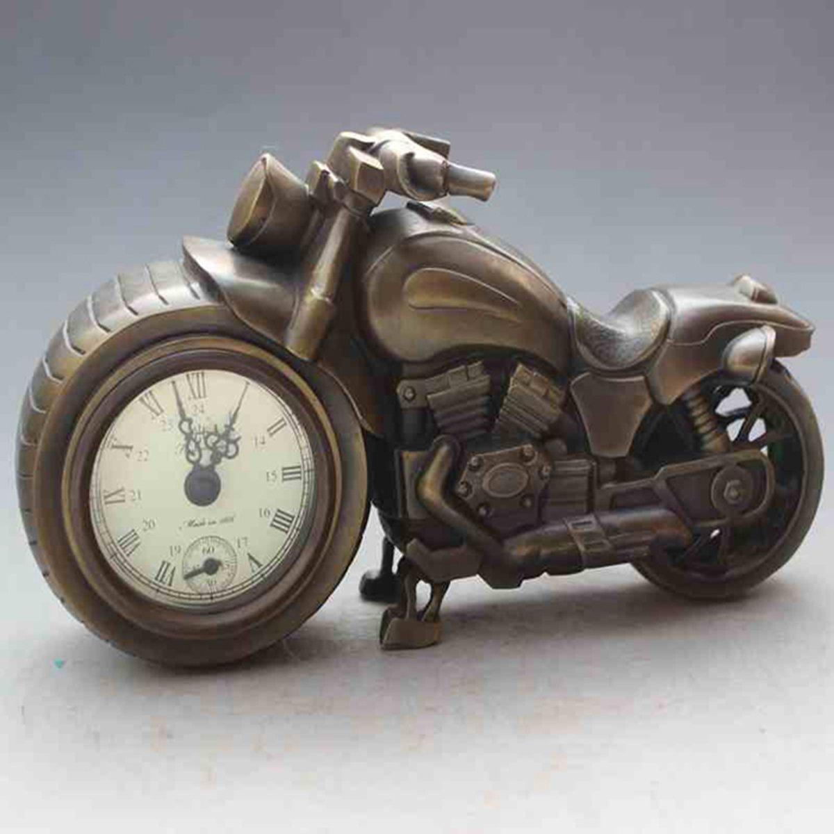 Originality locomotive copper watch Mechanics Desk clock Home decoration by Sunmir