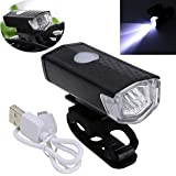 FASTPED ® USB Rechargeable Waterproof Cycle Light, High 300 Lumens Super Bright Headlight