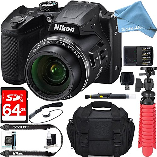 Nikon COOLPIX B500 16MP 40x Optical Zoom Digital Camera w/ B