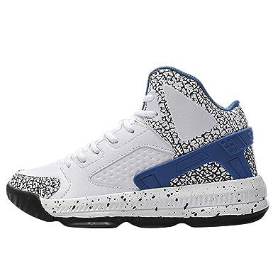 ZARLLE Moda Zapatillas de Baloncesto,Hombres Zapatos ...