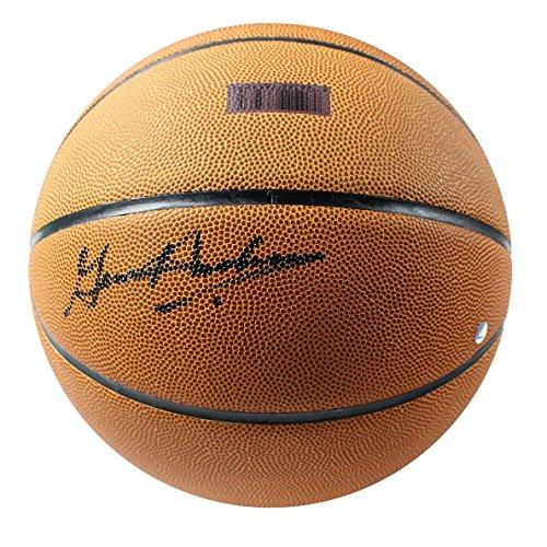 Gene Hackman Signed (NCAA Indiana Hoosiers Gene Hackman Signed Basketball)