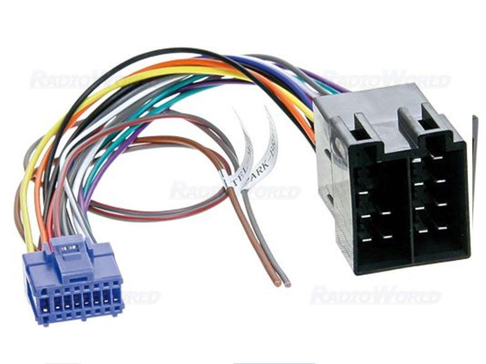 pioneer car stereo radio iso lead wiring harness: amazon co uk: electronics