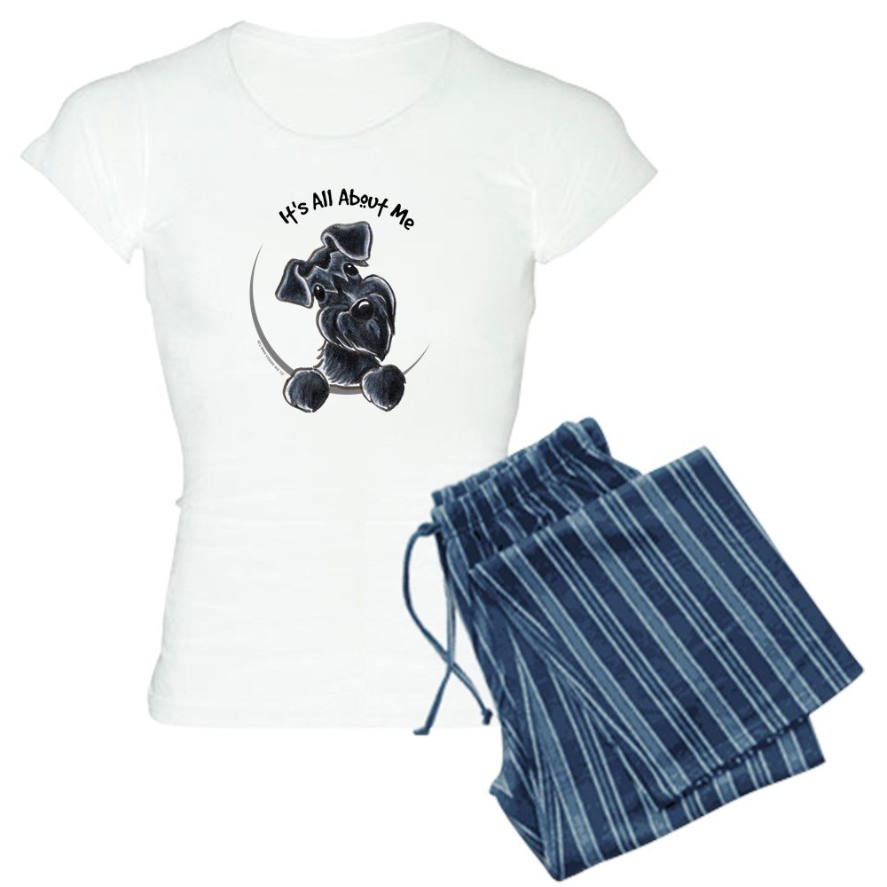CafePress - Black Schnazuer IAAM - Womens Pajama Set