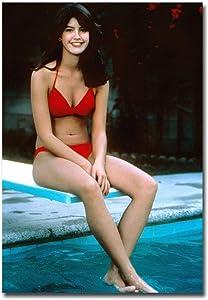 "Phoebe Cates Sexy Red Bikini Refrigerator Magnet Size 2.5"" x 3.5"