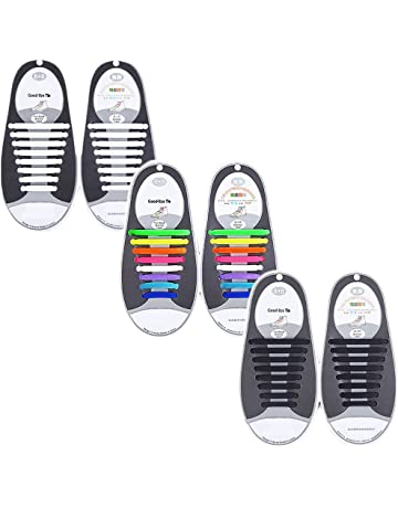 718a33b17 Talent Fashion Kids Adults Tieless Elastic Silicone No Tie Shoelaces  Waterproof Rubber Flat Running Shoe