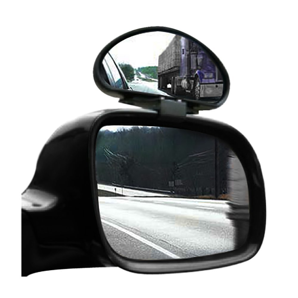 Blind Spot Mirrors Adjustable Wide Angle Towing Mirror - By TRIXES