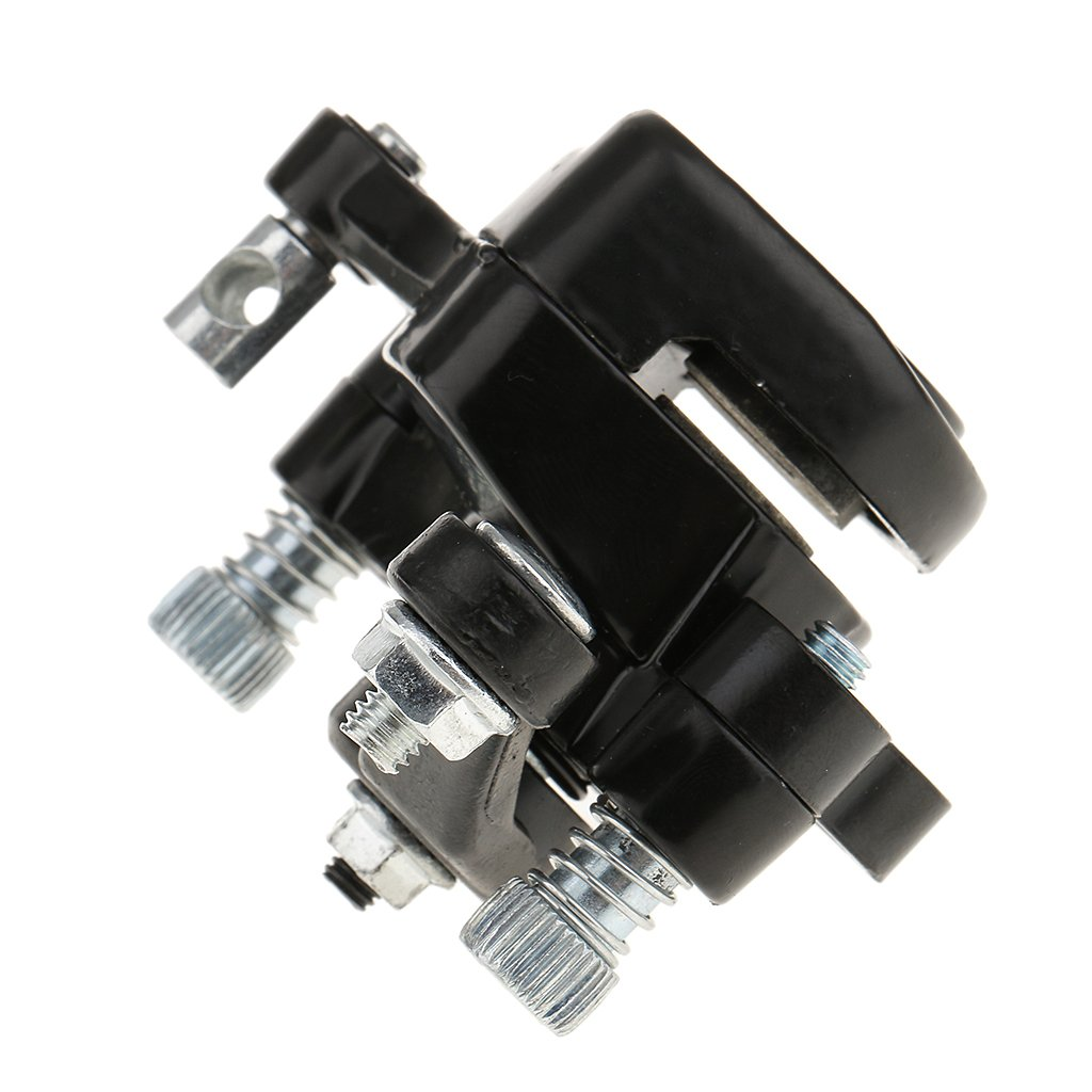MagiDeal 1pcs Noire Accessoires /Étrier De Frein /à Disque Avant Plaquettes Pour 49cc 47cc Mini Pocket Bike Rocket ATV Quad