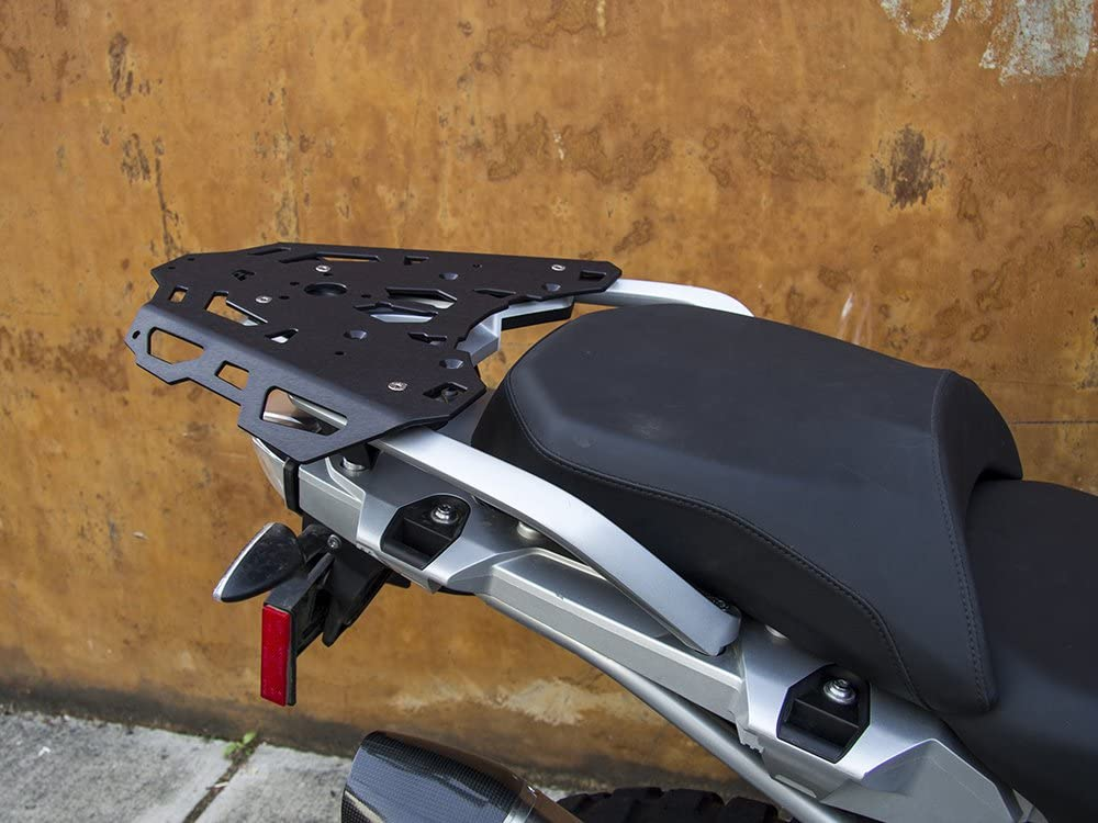 Black AltRider R113-2-4000 Rear Luggage Rack for the BMW R 1200 GS //GSA Water Cooled