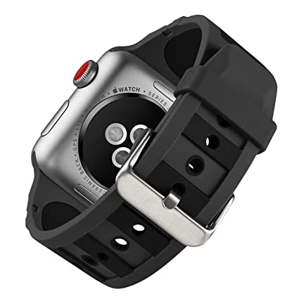 Amazon.com: MAPUCE Compatible Apple Watch Band 38mm/40mm ...