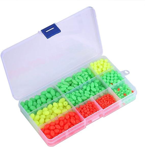 1000 Unids/Caja de plástico Glow Fishing Beads, Multi Coloreado ...