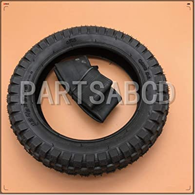 Scooter 49cc Motorcycle 12 1/2 x 2.75 12.5 x 2.75 Tire with Inner Tube for Mini Dirt Bike Tire MX350 MX400: Sports & Outdoors