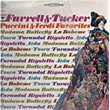 Eileen Farrell & Richard Tucker: Puccini & Verdi Favorites [STEREO] [VINYL LP]