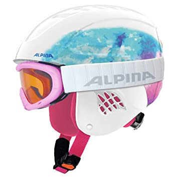 ALPINA A9095351 Cascos, Niños, Rojo, Talla Única: Amazon.es: Deportes y aire libre