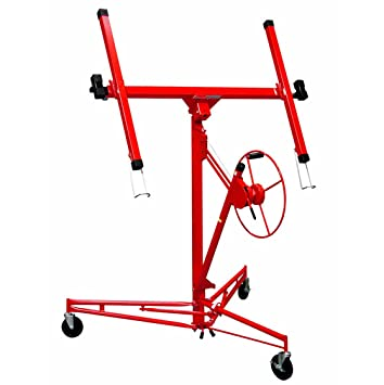 Amazon.com: Troy DPH11 11\' Drywall Rolling Lifter Panel Hoist Jack ...