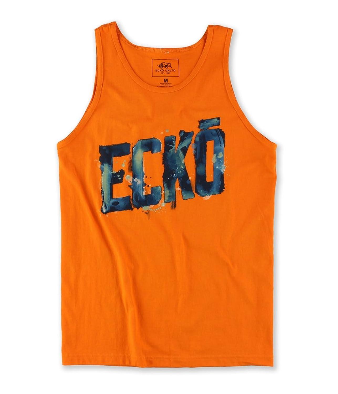 Ecko Unltd. Mens Water Color Stencil Tank Top