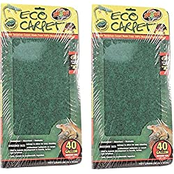 "(2 Pack) Zoo Med Repti Cage Carpet 18"" x 36"" each"