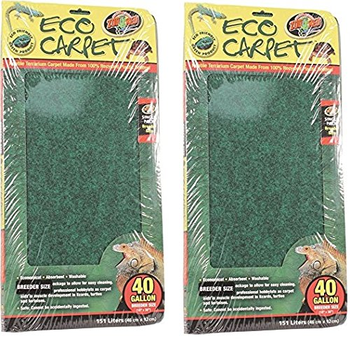 - (2 Pack) Zoo Med Repti Cage Carpet 18
