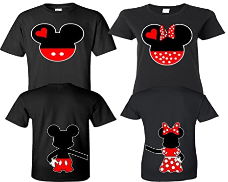 2b0a0a5449 Mickey Minnie Couple Shirts, Matching Couple Shirts, His And Her Shirts,  King Queen