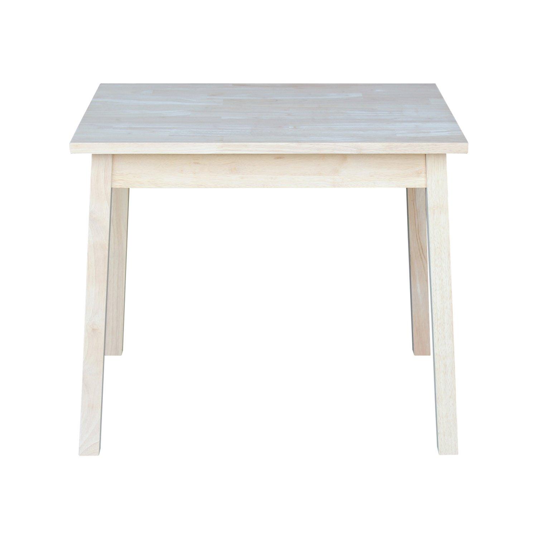 Amazon.com: Conceptos Internacional mesa rectangular de ...
