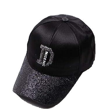 Amazon.com Fashion Women\u0027s Rhinestone Hats Female Baseball