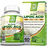 BRI Nutrition Alpha Lipoic Acid – ALA Softgel Combats Free Radical Damage, Supports Healthy Blood Sugar Levels, Promote Healthy Nerve Function – 300mg, 60 Count Fast Absorption Liquid Gels Review