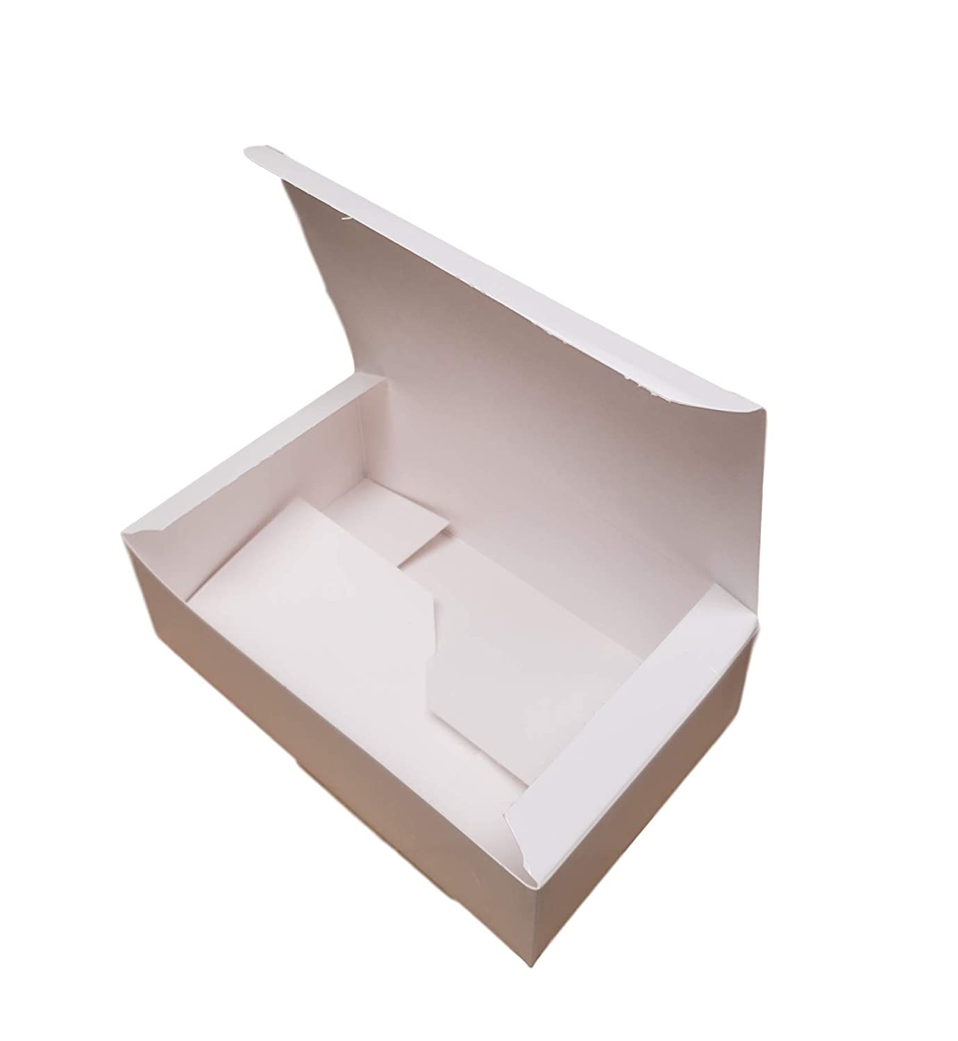 MT Products 7 1//4 x 4 3//8 x 2 3//8 White Paper 1.5 LB Candy and Chocolate Gift//Party Favor Box 20 Pieces