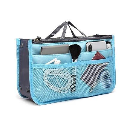 negozio online 8c1a9 caf46 Portable Multi-Pocket Borsetta Organizer, porta cosmetici in ...