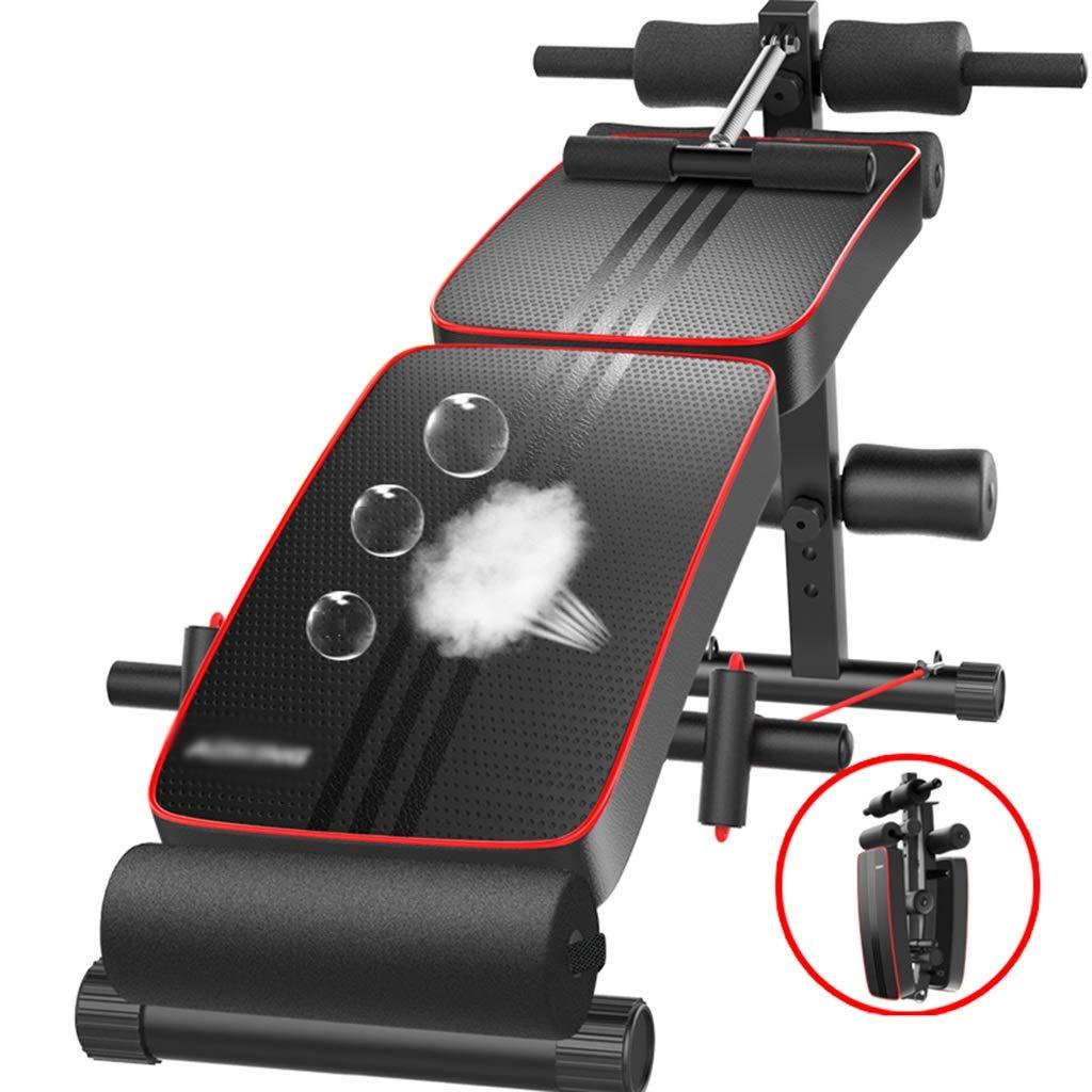 シットアップフィットネス機器、家庭用多機能折り畳み式仰臥位ボード腹部スポーツ援助腹部筋肉エクササイザ127 * 50 * 61CM  A B07GLSB2GZ