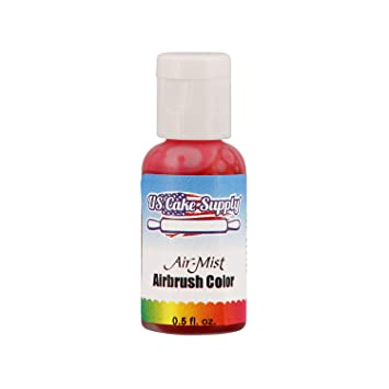 Amazon.com : US Cake Supply Hot Pink Airbrush Color - 1/2 Ounce ...