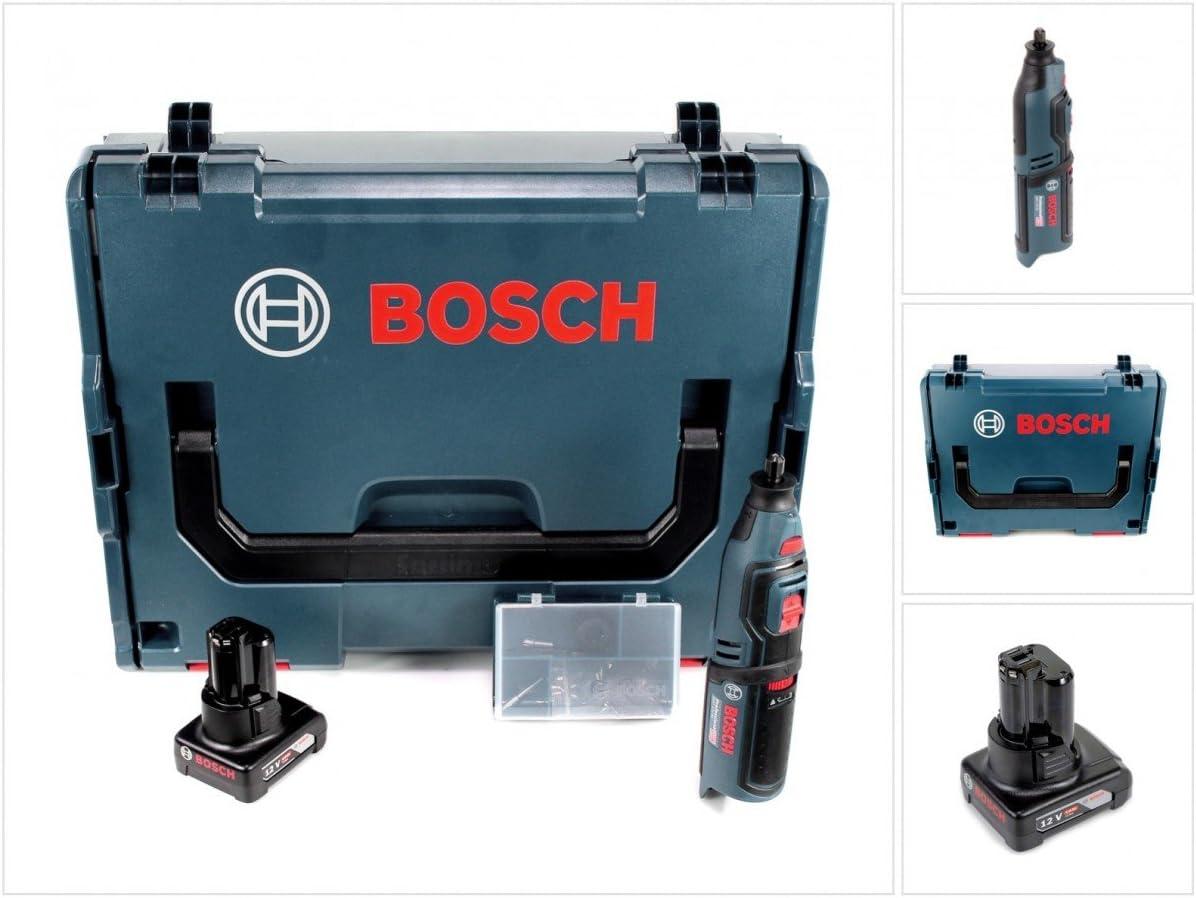 Bosch GRO 12V de 35Professional batería giratorio Herramientas en L-Boxx con 1x GBA 6,0Ah Batería