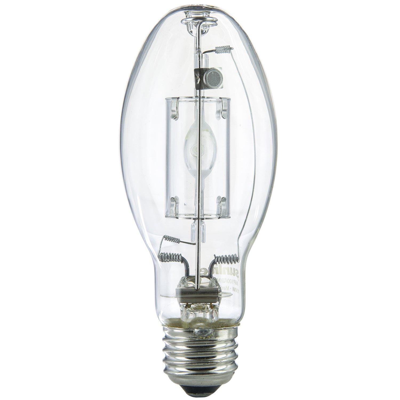 Metal Halide Lamp Led: Sunlite MP100/U/MED 100-Watt Metal Halide ED17