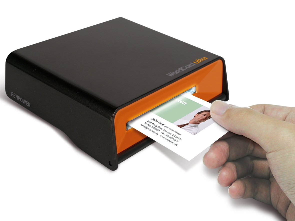 Amazon.com: Penpower WorldCard Ultra Business Card Scanner: Electronics