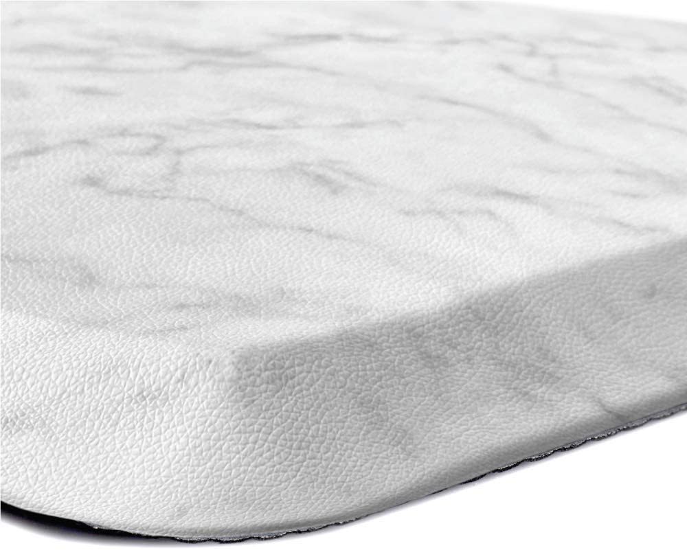 Kangaroo Original Standing Mat Kitchen Rug, Anti Fatigue Comfort Flooring, Phthalate Free, Commercial Grade Pads, Ergonomic Floor Pad, Rugs for Office Stand Up Desk, 32x20, Marble