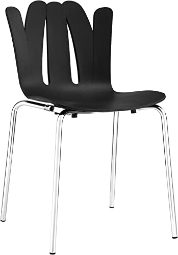 Modway Flare Modern Molded Plastic Dining Side Chair