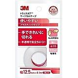 3M トランスポア サージカルテープ プラスティック 半透明 12.5mm幅x9.1m 1巻入り 1527EP-0