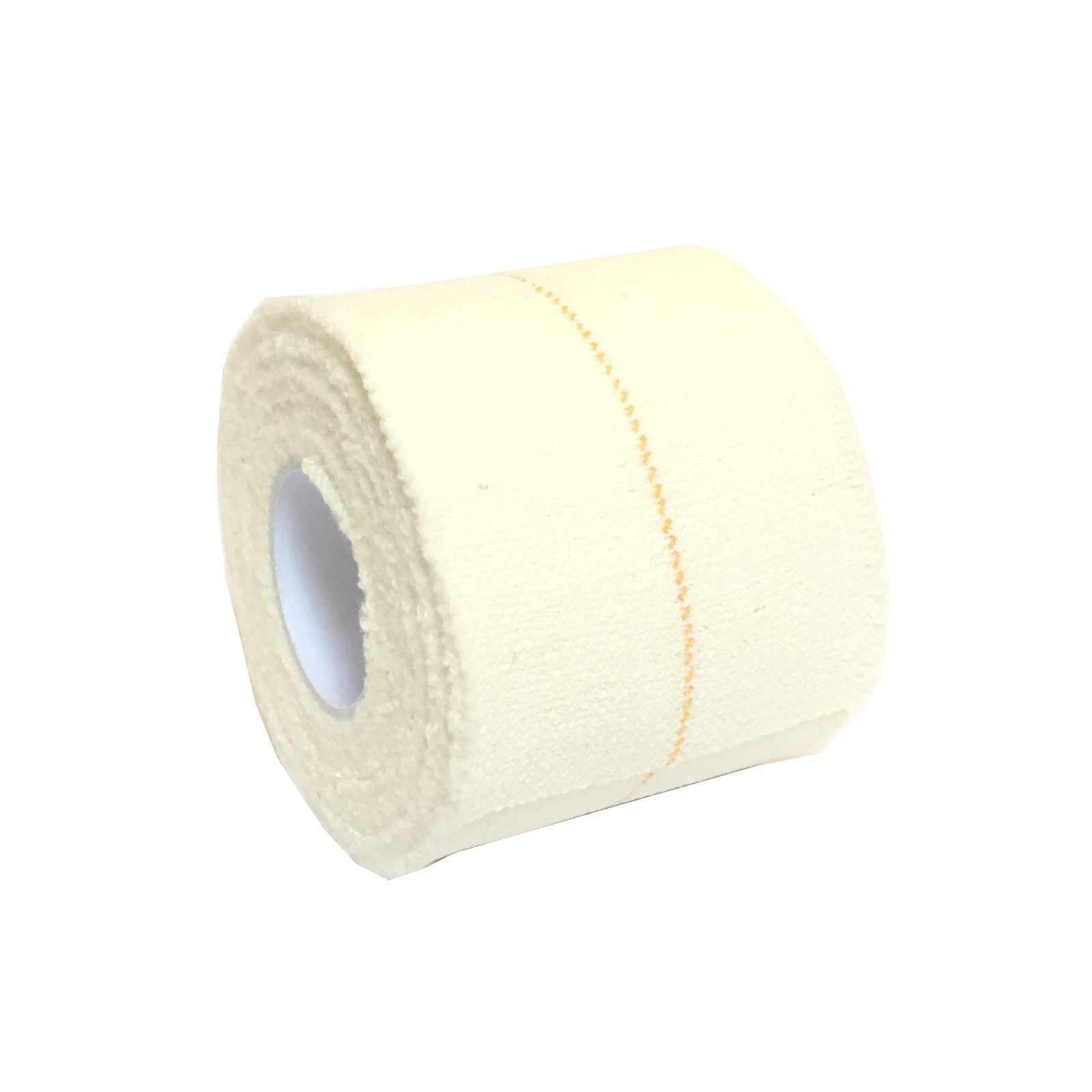 6 Rolls of 5CM x 4.5M QUALICARE PRO EAB Elastic Adhesive Bandage Athletic Sports Rugby Lifting Football Knee Ankle Elbow Wrist Joint Support Tape STRAPING White
