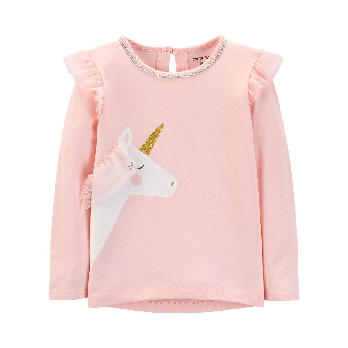 CARTER´S T-shirt à manches longues Licorne top bébé vêtements bébé, rose CARTERŽS CARTERŽS T-shirt à manches longues Licorne top bébé vêtements bébé