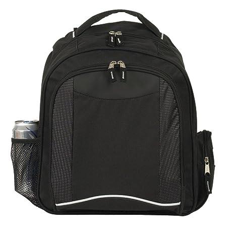 Negra del ordenador portátil mochila mochila - negocios / traslado / bolso de Colegio