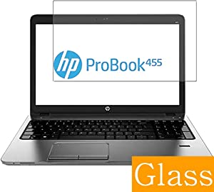 "Synvy Tempered Glass Screen Protector for HP ProBook 455 G1 15.6"" Visible Area Protective Screen Film Protectors 9H Anti-Scratch Bubble Free"