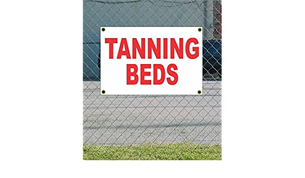 Tanning bed white strip thought