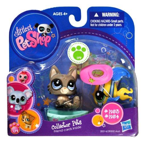 "Hasbro Year 2010 Littlest Pet Shop ""Collector Pets"" Series B"