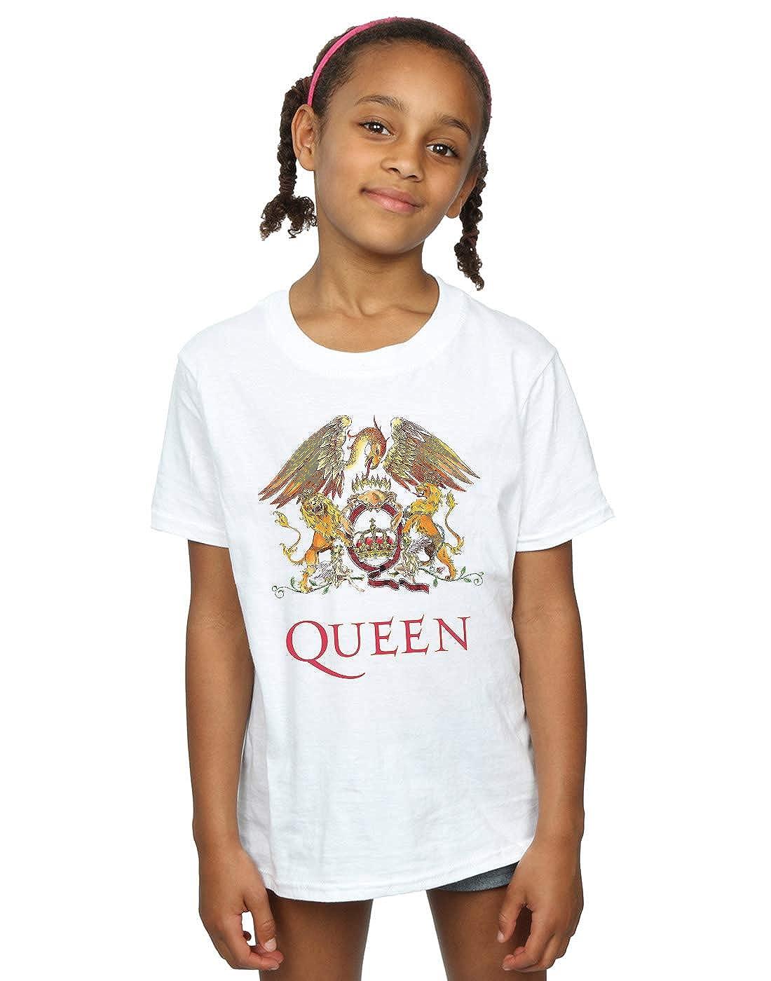 Queen Girls Crest Logo T-Shirt Absolute Cult