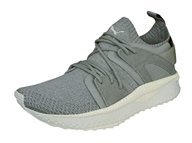 85d0e49e02f738 PUMA Mens Sneakers Tsugi Blaze Evoknit Training Shoes-Grey-7.5