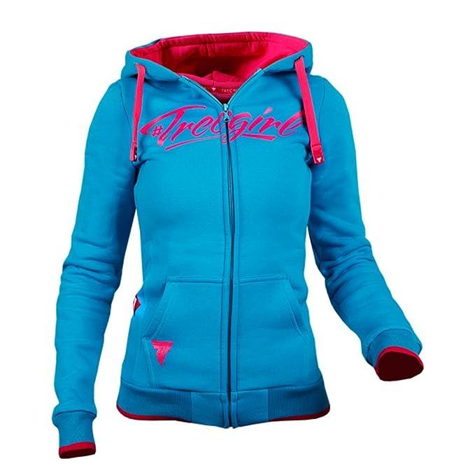 Vitamin Shop Online - Sudadera con Capucha - para Mujer Azul Azul mar X-Small: Amazon.es: Ropa y accesorios