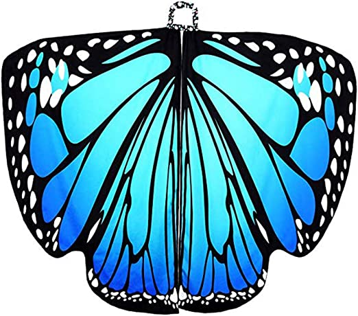 Bageek - Capa de alas de Mariposa para Disfraz de Halloween ...