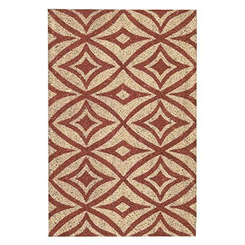 Waverly Trellis - WAVERLY Trellis WGT03 Greetings Centro Doormat 2' x 3'/Bluebell/Rectangle