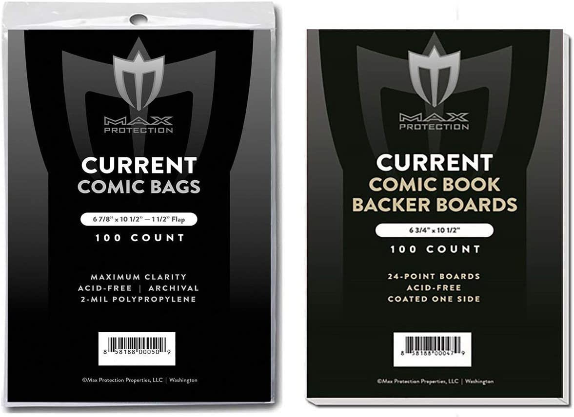 Life Magazine BCW Bags Backing Boards Combo Lot Large Resealable Sleeves Backer