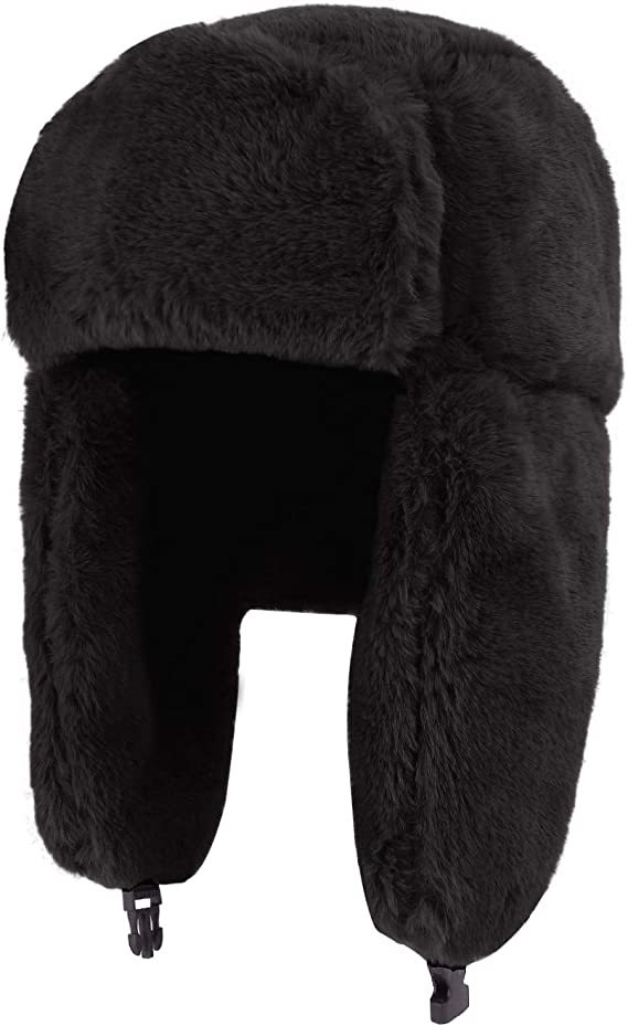 Lavender Fleece Riding Hat Ear Muffs//warmers With Cream Sherpa Backs