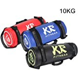 10KG Filled Weight Sand Power Bag Strength Training Fitness Exercise Workout Sandbag Durable for Strength Training Fitness Exercise