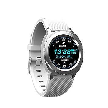 HIXGB Montre Connectée Bracelet Fitness Tracker Détecteur De Fréquence Cardiaque Moniteur Sommeil Affichage Couleur Bluetooth Para